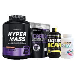 Pack Aumento de Massa Muscular I