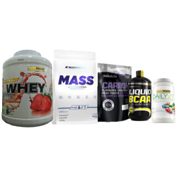 Pack Aumento de Massa Muscular II